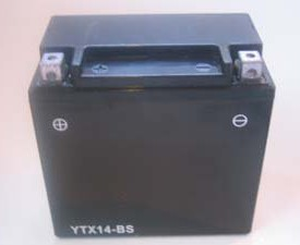 Xtx14 Bs Agm Motorcycle Battery Replaces Ytx14 Bs
