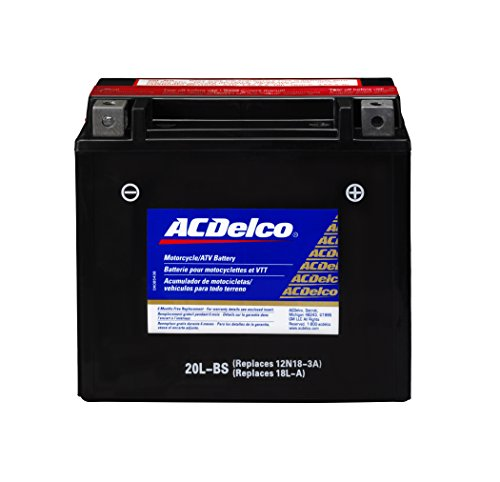 ACDelco ATX20LBS Specialty Powersports AGM JIS 20L BS Battery