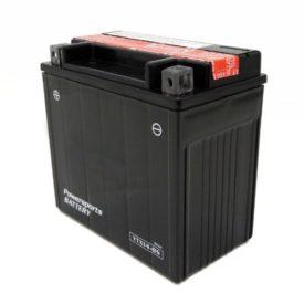 Ytx14 bs maintenance free 12v battery atv suzuki lt a for Yamaha atv batteries